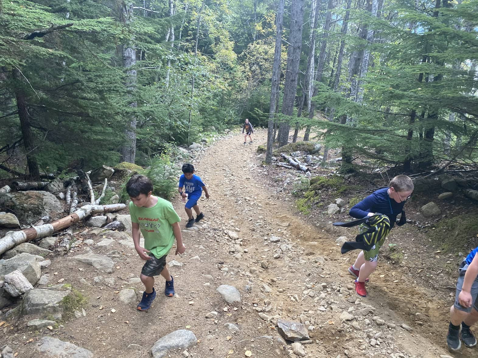 Skagway School's running teams undeterred by COVID-19