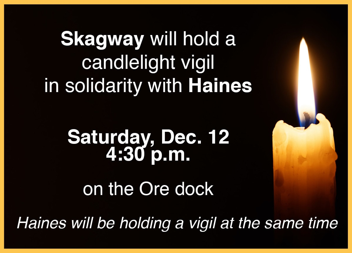 Candlelight Vigil to support Haines