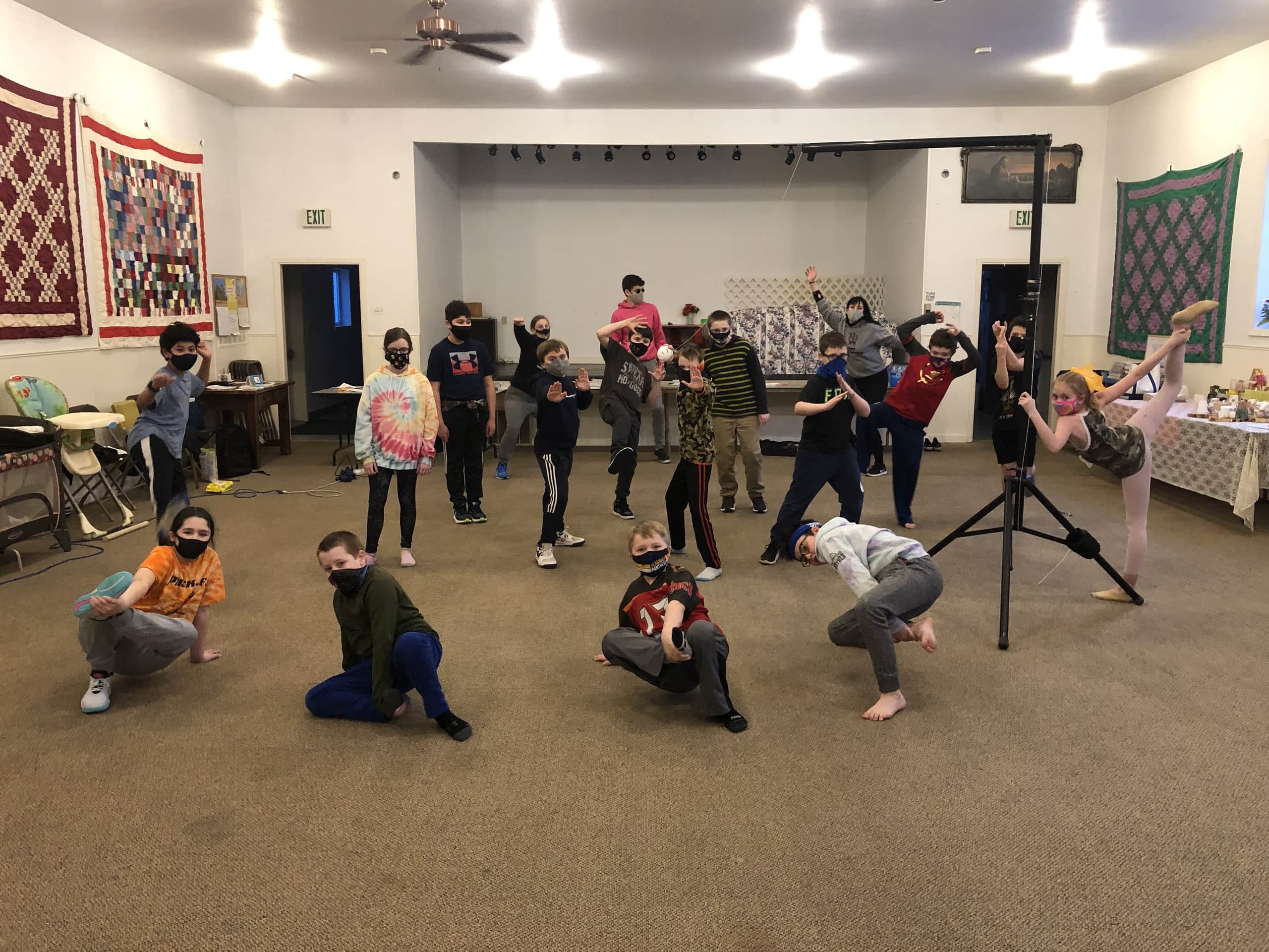 Skagway students in their first Jr. Native Youth Olympics