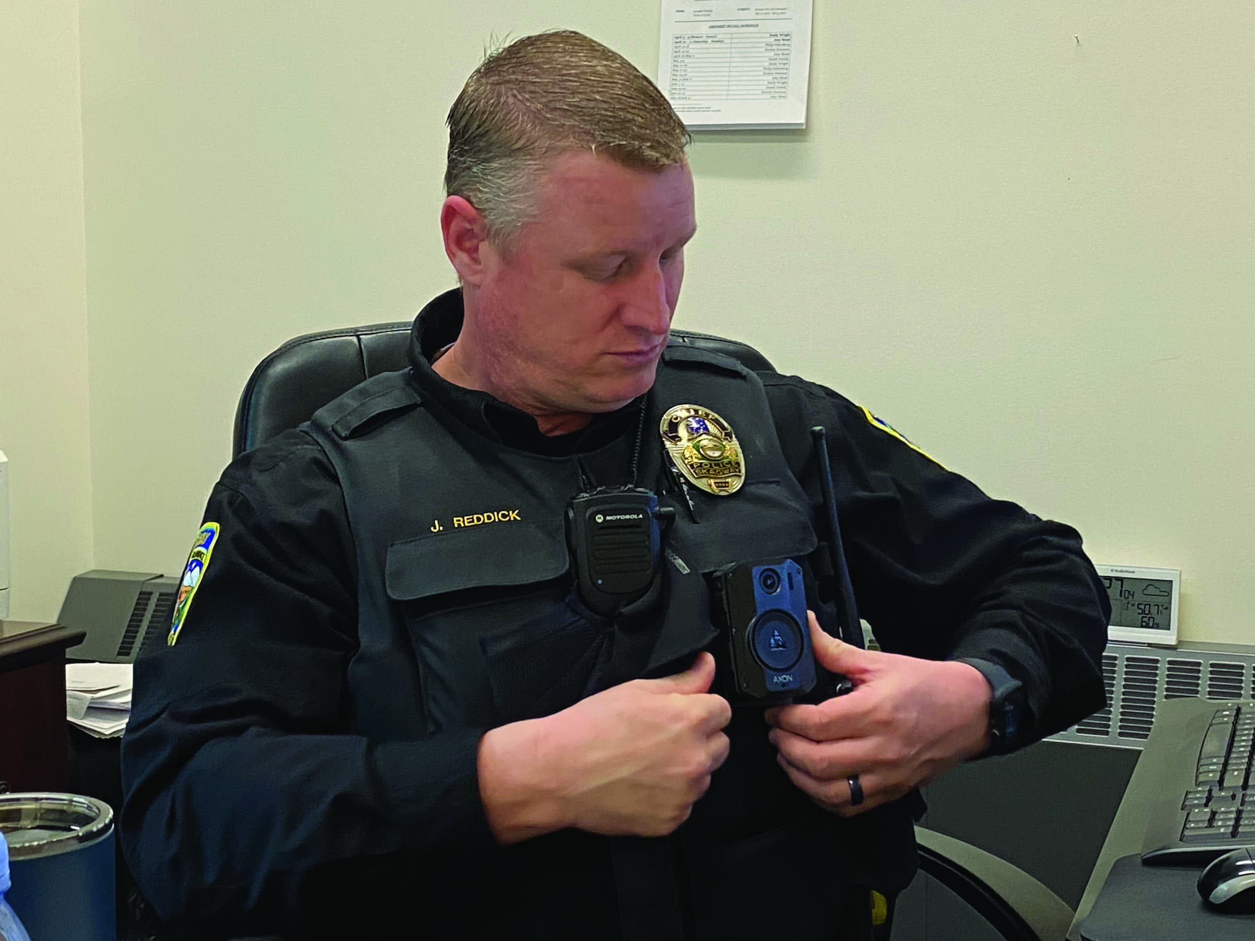 Skagway police carry body cams