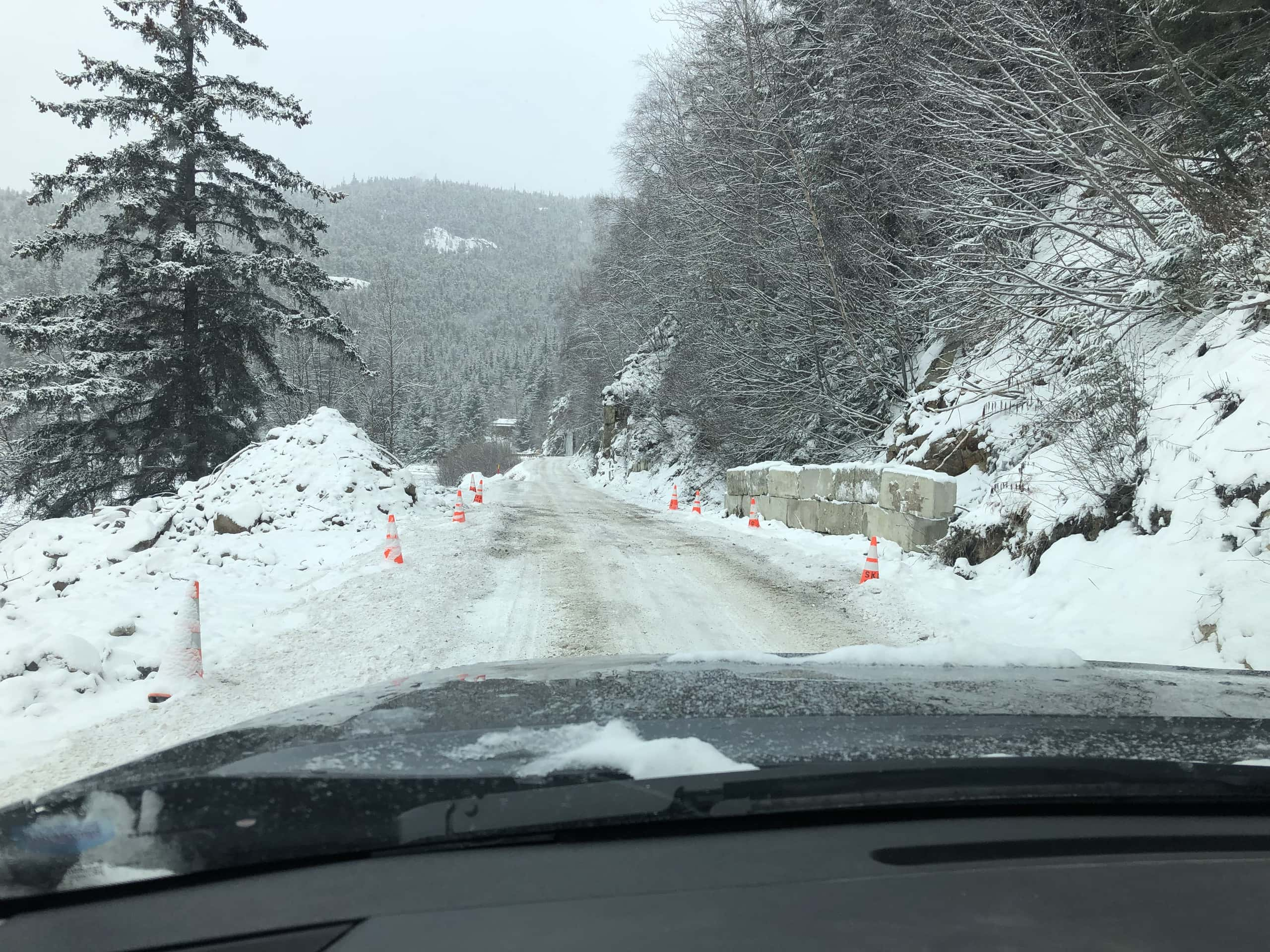 Dyea Road deteriorates after fixes